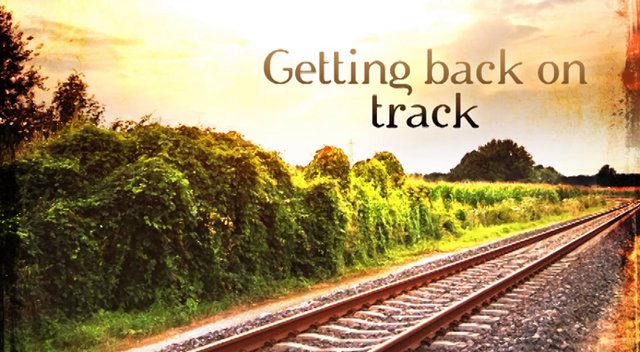 Getting Back on Track in the New Year