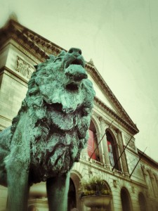 Lion on Guard - The Art Institute of Chicago